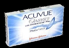 Acuvue Oasys so mehke 14-dnevne kontaktne leče proizvajalca Johnson and Johnson.