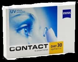 Contact Day 30 so mesečne mehke kontaktne leče proizvajalca Carl Zeiss.