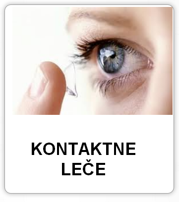 Kontaktne leče različnih proizvajalcec v optiki helena dolinšek.