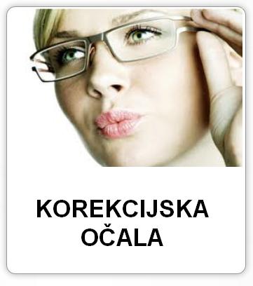 Korekcijska očala različnih proizvajalcec v optiki helena dolinšek.
